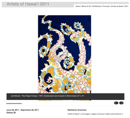 Judd Boloker - Artists of Hawaii 2011 Exhibition