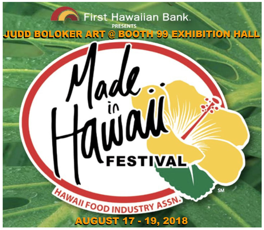 Made In Hawaii Festival 2018 Judd Boloker Lei Art Haku Prints